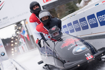 Bobsleigh William Auclair remporte son pari)