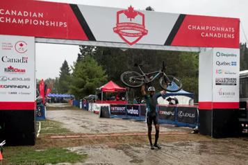 Vélo de montagne Léandre Bouchard champion canadien, Verreault en argent chez les moins de 23 ans