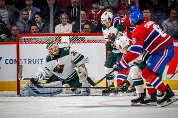 Wild 0 - Canadien 4 (pointage final)