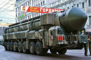 Désarmement nucléaire Poutine a soumis un projet de loi prolongeant l'accord New Start de 5ans )