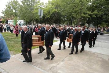 Funérailles de Stéphane Roy et de son fils à Saint-Jérôme