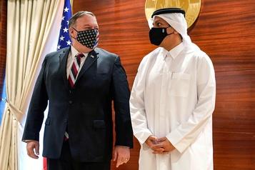 Retrait des troupes américaines Mike Pompeo au Qatar pour participer aux négociations afghanes, pas d'avancées)