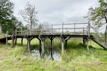 Le pont de Winnie l'Ourson mis aux enchères