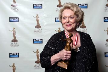 L'actrice Shirley Douglas succombe à une pneumonie à 86ans