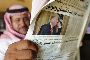 Les alliés arabes de Washington saluent le plan de paix de Trump