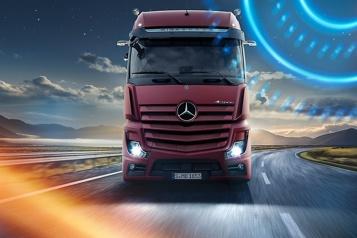 Lancement en Bourse Daimler gardera 35% des actions de sa division poids lourds)
