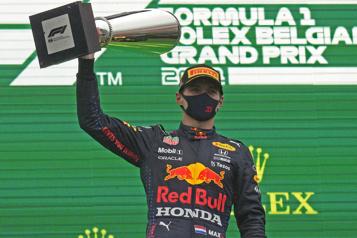 Grand Prix de Belgique Verstappen déclaré vainqueur après deux tours seulement)