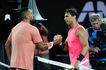 Rafael Nadal remporte son duel face à Nick Kyrgios