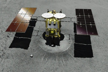 La sonde spatiale japonaise Hayabusa2 va entamer son retour sur Terre