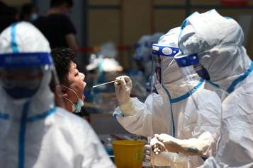 COVID-19 Un record journalier de cas en Chine depuis janvier)