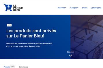 Catalogue de produits Le Panier bleu fait alliance avec Lightspeed)
