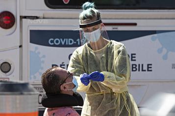 COVID-19: trois décès et 87nouveaux cas)