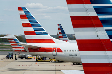 American Airlines emprunte 5,5 milliards à Washington)