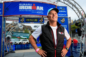 Ironman de Mont-Tremblant: «Vous êtes un Ironman!»