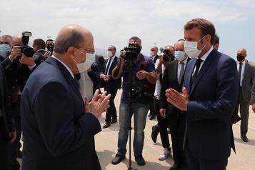 Liban: Macron veut «organiser l'aide internationale», réclame des réformes)