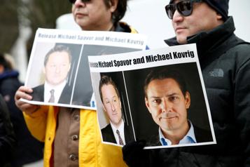 Emprisonnés en Chine Les proches de Michael Kovrig et de Michael Spavor ont pu leur parler)
