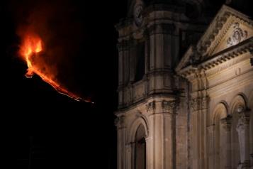 L'Etna est de nouveau entré en éruption)