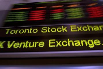 Reprise généralisée à la Bourse de Toronto)