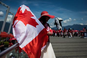 La fête du Canada célébrée de façon unique)