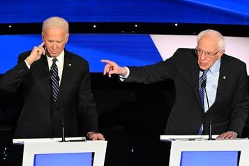 Primaire démocrate: le ton monte entre les favoris Joe Biden et Bernie Sanders