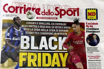 Racisme: deux joueurs de clubs italiens fustigent un journal
