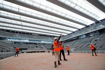 Roland-Garros se prépare pour l'automne)