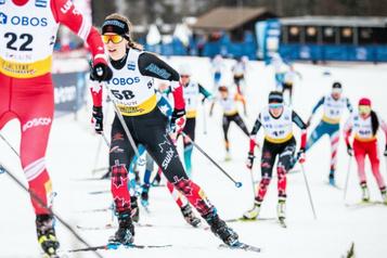 Ski de fond: nouveau sursis pour Cendrine Browne)