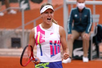 Roland-Garros Eugenie Bouchard revient de l'arrière et passe au 3e tour)