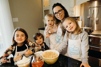 Cinq trucs d'une maman solo defamille nombreuse