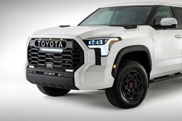 Premier coup d'œil au Toyota Tundra2022)