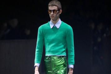 Gucci clôt la semaine de la mode de Milan
