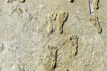 Peuplement de l'Amérique du Nord Des empreintes de 23000ans découvertes dans le sud-ouest des États-Unis)