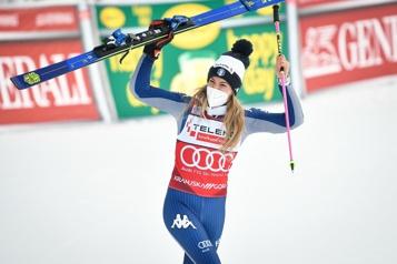 Coupe du monde de KranjskaGora Marta Bassino complète le doublé en slalom géant)