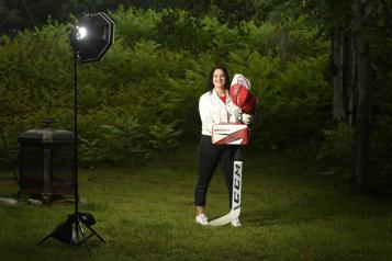 Ève Gascon avec les Olympiques de Gatineau «Ce n'était pas juste un coup depublicité» )