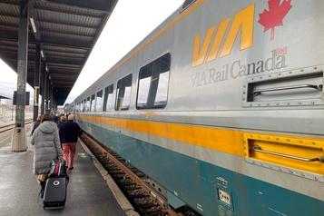 Crise ferroviaire: VIA Rail effectue 1000 mises à pied temporaires