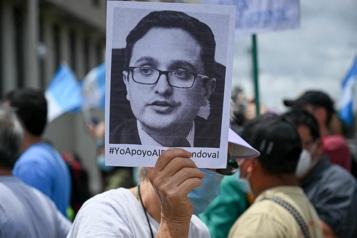 Procureur limogé et menacé Washington suspend sa coopération judiciaire avec le Guatemala )