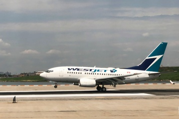 WestJet reprend l'air avec un Boeing737 Max)