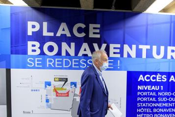 La Place Bonaventure prête au retour sécuritaire desemployés)