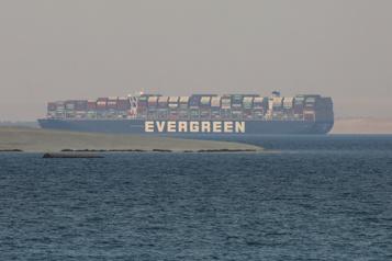 Canal de Suezbloqué L'Égypte réclame 900 millions de dollars, l'Ever Given est saisi)