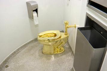 Toilette en or massif volée: une deuxième arrestation