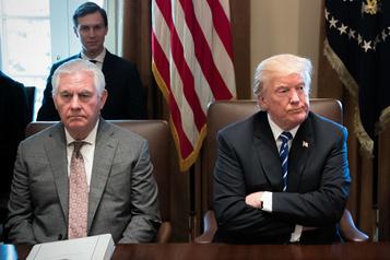 Pour Tillerson, les actions présumées de Trump sont inacceptables