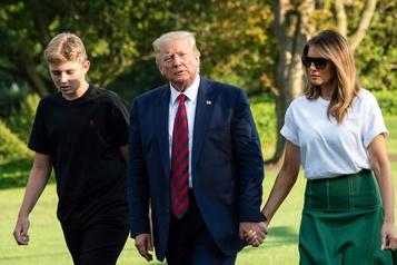 «Elle a un fils -ensemble-» : une déclaration de Trump qui fait sourciller