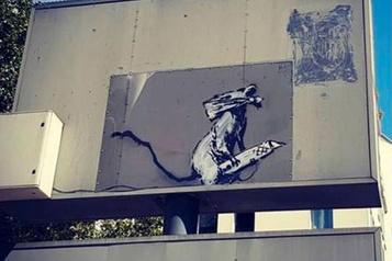 Vol d'un Banksy à Paris: un suspect inculpé