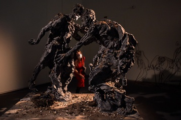 Alexandre Sokourov présente une installation inspirée de Rembrandt)