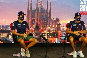 F1: Pérez «heureux d'être débarrassé du coronavirus» et de courir en Espagne)