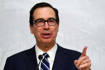 L'activité économique américaine pourrait redémarrer en mai, selon Steven Mnuchin