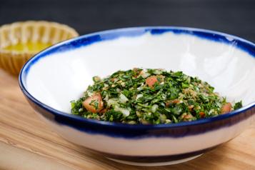 Recette de taboulé ou salade de persil)