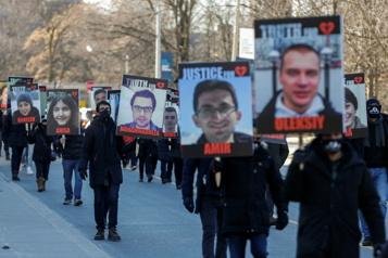 Avion abattu en Iran Le Canada souligne le premier anniversaire de la tragédie)