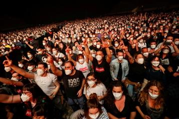 Concert-test à Barcelone «Aucun signe» de contagion, selon les organisateurs)