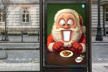 Marketing-publicité Des Ho! Ho! Ho! plus modestes dans les pubs)